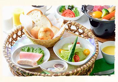 祖谷の朝餉(洋食)