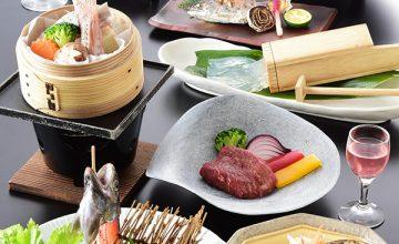 【Tokushima  Gourmet】徳島の山&海の幸 阿波プレミアムプラン♪A5阿波牛