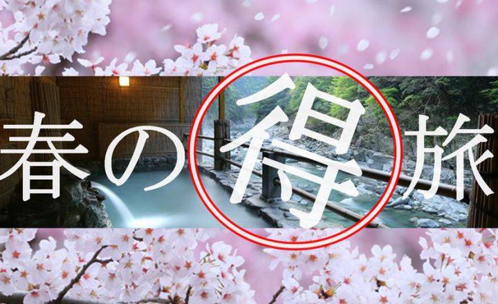【3・4月限定】おひとり様 15,000円~★春の得旅 家族or友人de春休みプラン