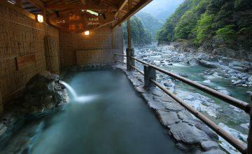 露天風呂 渓谷の湯